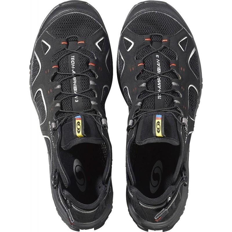 ... Salomon Techamphibian 3 black flea 128478 pánské sandály i do vody (1)  ... 1fe0032bdd