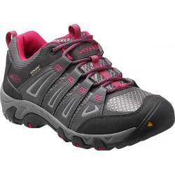 Keen Oakridge WP W magnet/rose dámské nízké nepromokavé boty