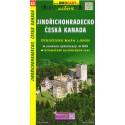 SHOCart 45 Jindřichohradecko, Česká Kanada 1:50 000 turistická mapa