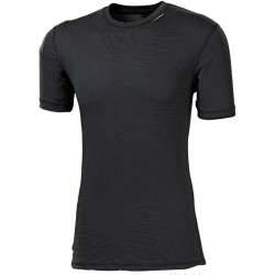Progress Micro Sense MS NKR černá pánské triko krátký rukáv