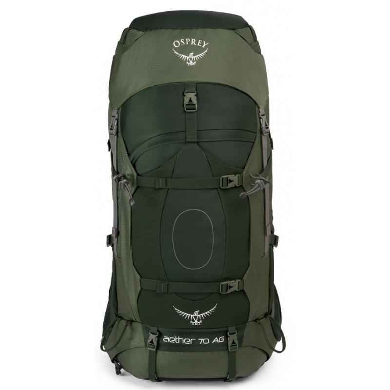 d00a293ffcb ... Osprey Aether AG 70 L adirondack green expediční batoh (8) ...