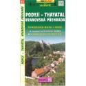 SHOCart 53 Podyjí - Thayatal, Vranovská přehrada 1:50 000 turistická mapa