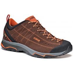 Asolo Nucleon GV MM GTX root/arabesque pánské nízké nepromokavé kožené boty (2)