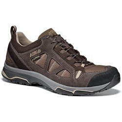 Asolo Megaton GV MM GTX elephant/brown pánské nízké nepromokavé boty