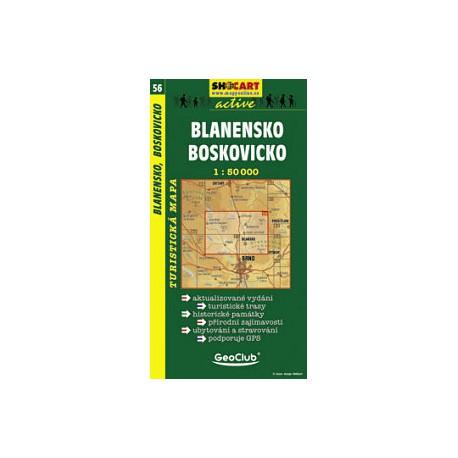 SHOCart 56 Blanensko, Boskovicko 1:50 000