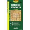 SHOCart 56 Blanensko, Boskovicko 1:50 000 turistická mapa