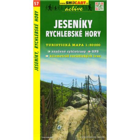 SHOCart 57 Jeseníky, Rychlebské hory 1:50 000