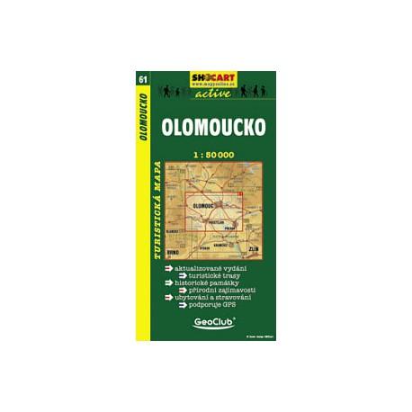 SHOCart 61 Olomoucko 1:50 000
