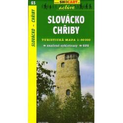 SHOCart 63 Slovácko, Chřiby 1:50 000