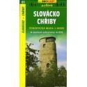 SHOCart 63 Slovácko, Chřiby 1:50 000 turistická mapa
