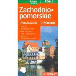DEMART Zachodniopomorskie/ Západopomořanské vojvodství 1:250 000 automapa