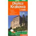 DEMART Okolice Krakowa/Okolí Krakova 1:75 000 turistická mapa
