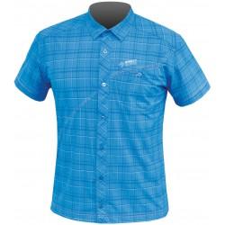 Direct Alpine Ray 3.0 blue pánská lehká košile krátký rukáv