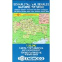 Tabacco 04 Schnalstal/Val Senales, Naturns/Naturno 1:25 000 turistická mapa