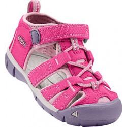 Keen Seacamp II CNX K very berry/lilac chiffon dětské outdoorové sandály i do vody
