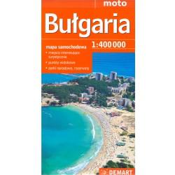 DEMART Bulgaria/Bulharsko 1:400 000 automapa