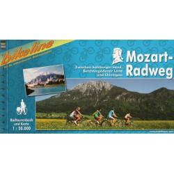 Bikeline Mozartova cyklostezka (Mozart-Radweg) 1:50 000 cykloprůvodce