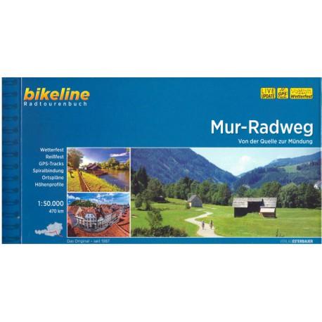 Bikeline Murská cyklostezka (Mur-Radweg) 1:75 000 cykloprůvodce