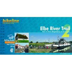 Bikeline Elbe River Trail 2/Labská cyklostezka 2 1:75 000 cykloprůvodce