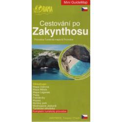 ORAMA Cestování po Zakynthosu 1:130 000 turistická mapa+průvodce