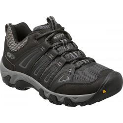Keen Oakridge M black/gargoyle pánské nízké prodyšné boty