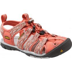 Keen Clearwater CNX W fusion coral/vapor dámské outdoorové sandály i do vody