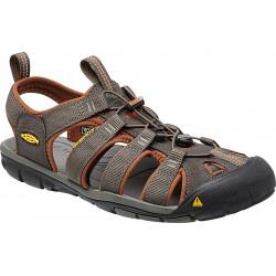 Keen Clearwater CNX M raven/tortoise shell pánské outdoorové sandály i do vody