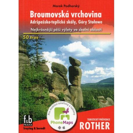 Broumovská vrchovina, Adršpašsko-teplické skály, Góry Stolowe