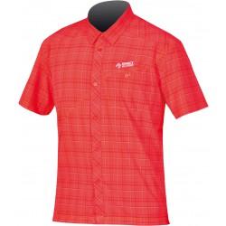 Direct Alpine Ray 3.0 red pánská košile krátký rukáv