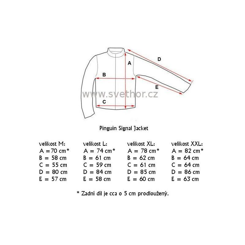 ...  Pinguin Signal Jacket žlutá unisex nepromokavá bunda A.C.D. membrane 2L 0cd0030d44