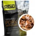 Adventure Menu Vepřové maso na kmíně 2 porce 200 g sterilované jídlo na cesty
