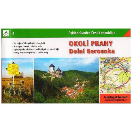 4 Okolí Prahy, Dolní Berounka cykloprůvodce