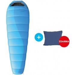 Husky Ladies Majesty -10°C modrá + Pillow třísezónní spací pytel + cestovní polštářek