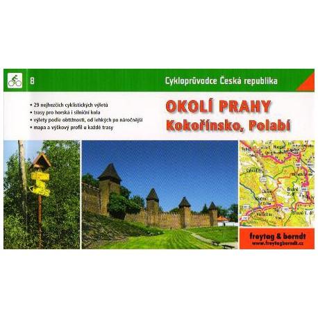 8 Okolí Prahy, Kokořínsko, Polabí cykloprůvodce