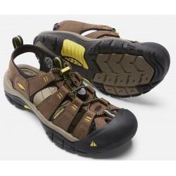 Keen Newport H2 M dark earth/acacia pánské outdoorové sandály i do vody