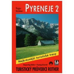 Freytag a Berndt Pyreneje 2 průvodce Rother