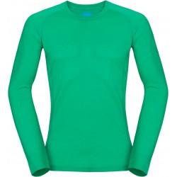 Zajo Bjorn Merino T-shirt LS bright green pánské triko dlouhý rukáv Merino vlna (1)