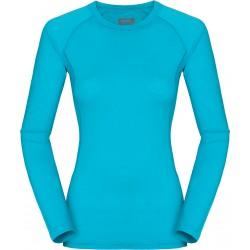 Zajo Elsa Merino W T-shirt LS curacao dámské triko dlouhý rukáv Merino vlna (1)