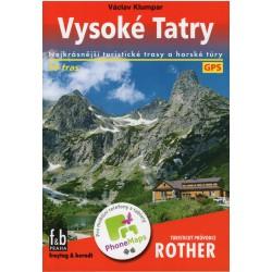 Freytag a Berndt Vysoké Tatry průvodce Rother