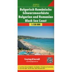 Freytag a Berndt Bulharsko-rumunské černomořské pobřeží 1:150 000 automapa2
