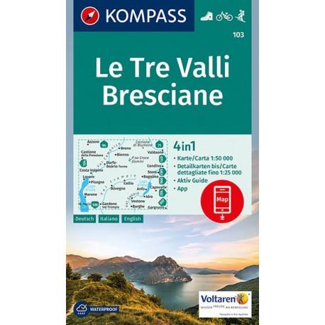 Le Tre Valli Bresciane Kompass