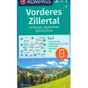 Kompass 28 Vorderes Zillertal, Achensee, Alpbachtal, Wildschönau 1:50 000 turistická mapa