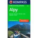 Kompass Alpy Velký turistický průvodce