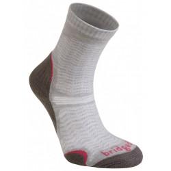 Bridgedale WoolFusion Ultra Light Women´s mushroom dámské trekové ponožky Merino vlna