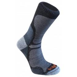 Bridgedale WoolFusion Ultra Light black trekové ponožky Merino vlna