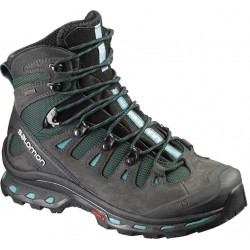 Salomon Quest 4D 2 GTX W asphalt/green black 390277 dámské nepromokavé trekové boty