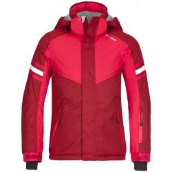Husky Lory růžová dětská nepromokavá zimní lyžařská bunda Aquablock Plus