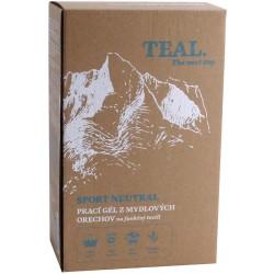 Teal Sport Neutral 2x 1l prací gel z mýdlových ořechů na funkční textil