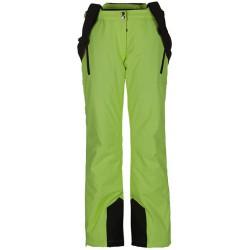 Husky Lipel zelená dětské nepromokavé zimní lyžařské kalhoty Aquablock Plus