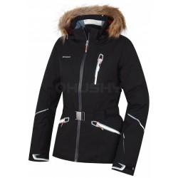 Husky Walera černá dámská nepromokavá zimní lyžařská bunda HuskyTech 20000 (1)